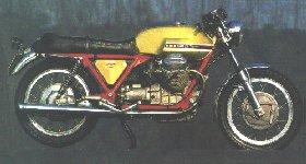 La Moto Guzzi V7 Sport