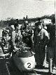 Imola, 2 aprile 1955 si scalda il motore (Agostini, Pomi e Todero)