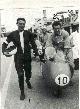 Colnago e Piero Pomi a Monza nel 1957